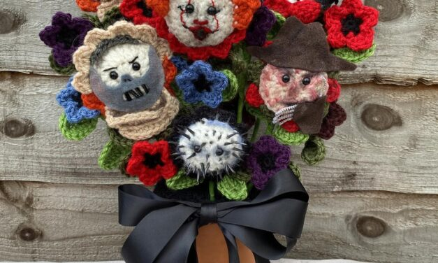 Crochet a Bouquet Of Horrors … You've Never Seen a Collection of Terror Amigurumi Like This … Hello, Fantasy Florals!
