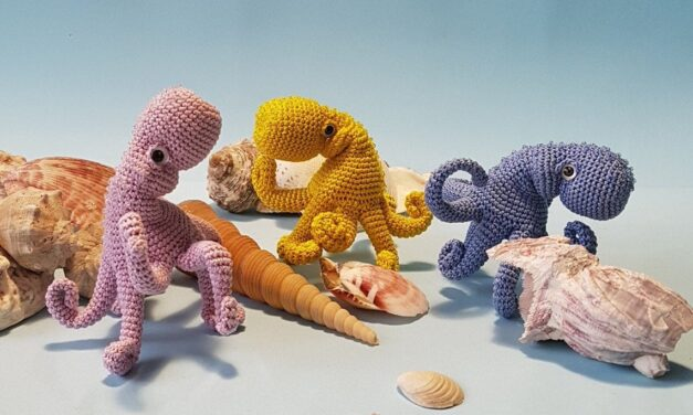 Crochet A One-Of-A-Kind Octopus Amigurumi With An Exquisite Pattern From Simpatico Gufo
