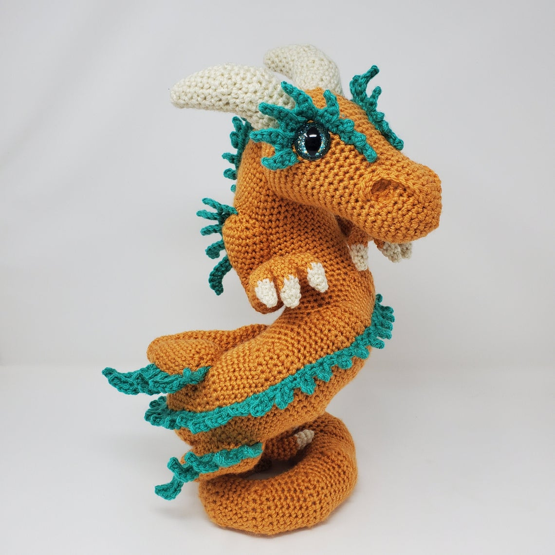 Crochet A Celestial Dragon Designed By Kati Brown Of Hooked By Kati ... This Is The Very Definition Of Unique!