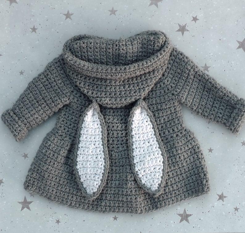Adorable Bunny Rabbit Hats #crochet