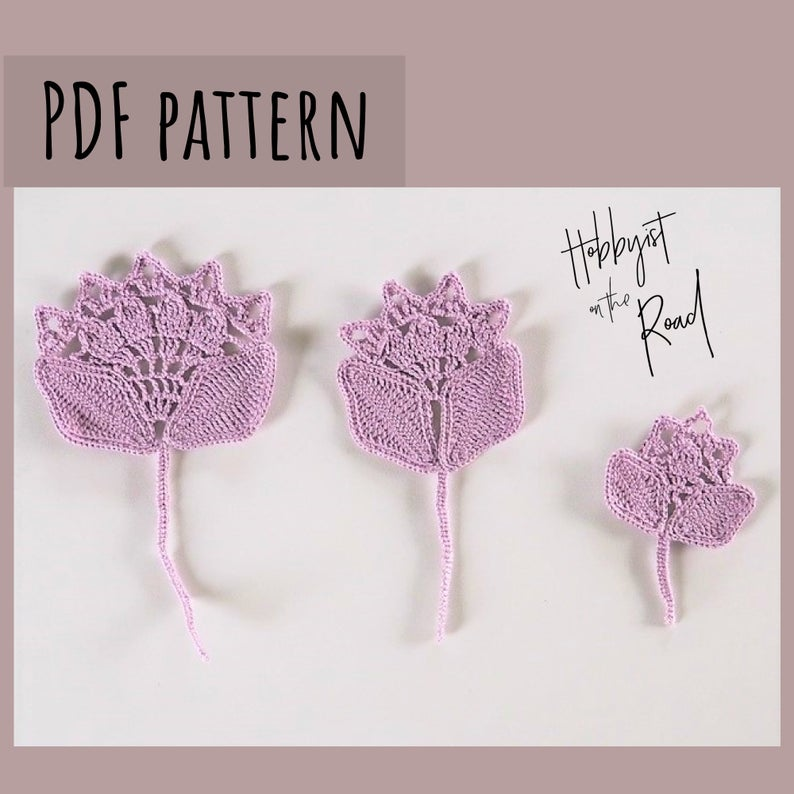 Patterns designed by Vytene of Hobbyist On The Road #crochet