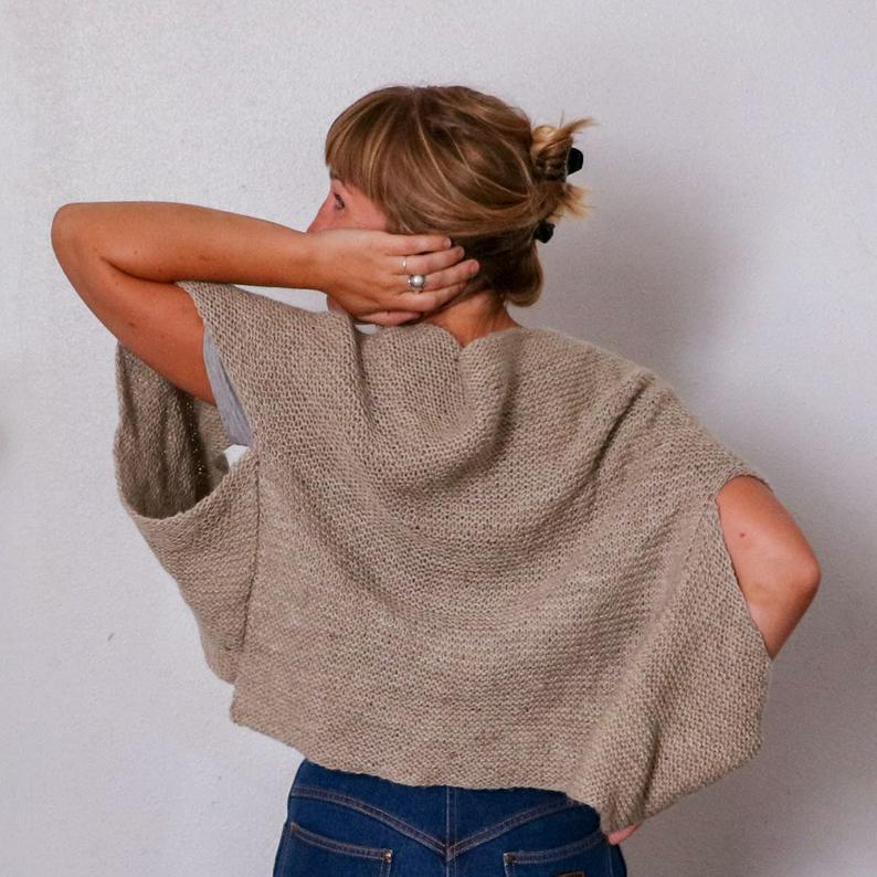 Knit a Super-Cute V-Neck Sweater Vest ... Perfect For Spring!