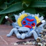 Kabelbinder's Spectacular Peacock Spider Amigurumi Patterns … I Spy A Sparklemuffin!