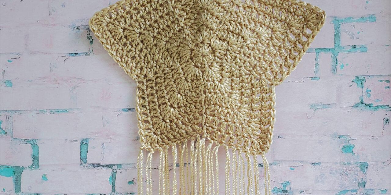 Freebie Friday! Crochet a Boho Star Wall Hanging by Angela Ader