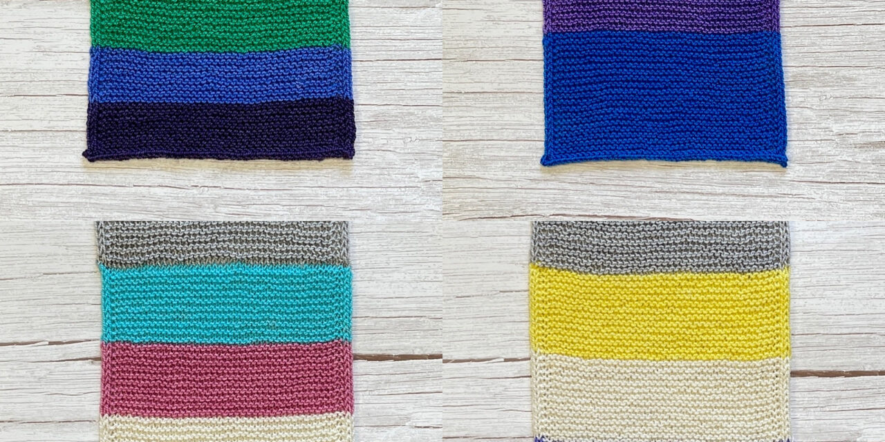 More Than A Rainbow Pride Patterns – Celebrate Gay Pride, Transgender Pride, Non-Binary Pride & Bisexual Pride With These Knit Flag Scarf Patterns