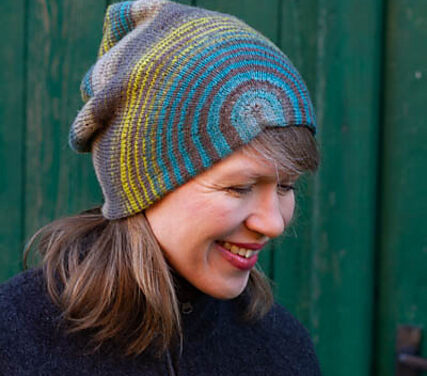That's a Good Looking Hat! Knit a Circle & Square Beanie Designed by Martina Behm