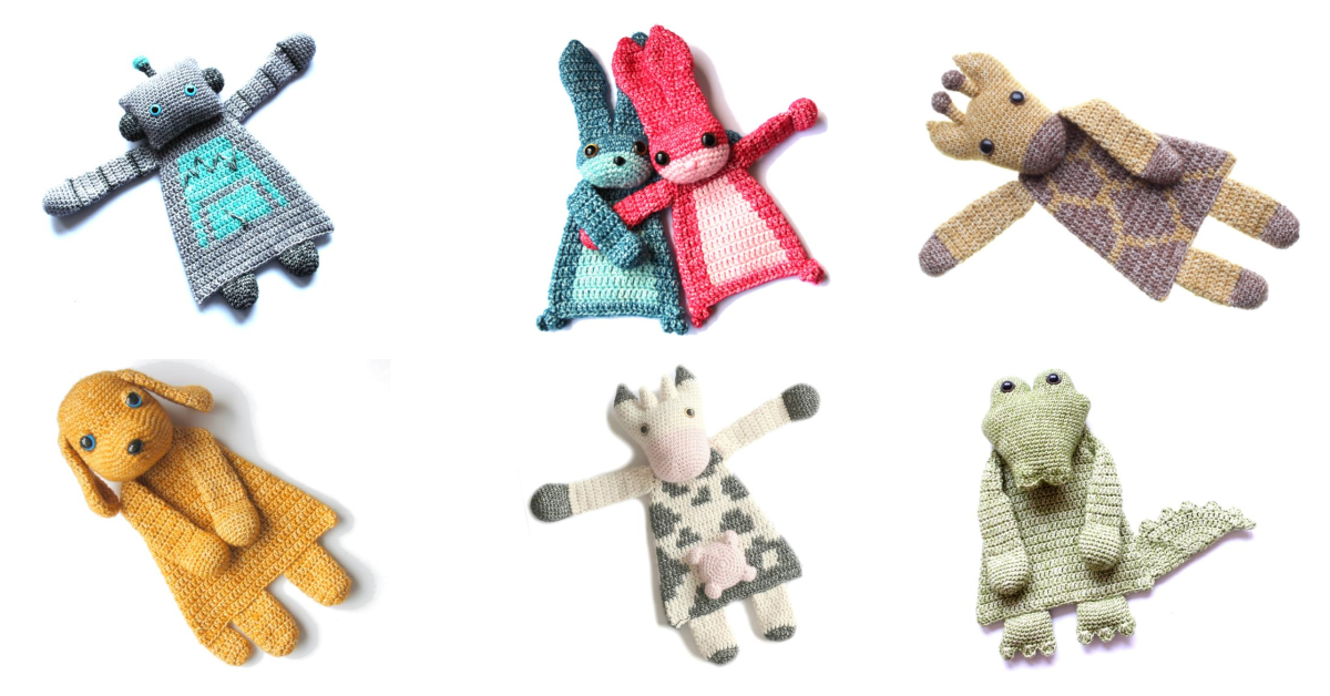 Designer Spotlight: The Cutest Ragdoll Patterns For Crocheters … Makes The Best Baby Shower Gift Ever!