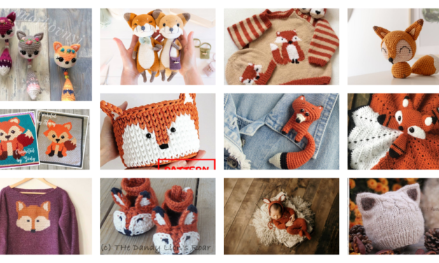 Designer Spotlight: 45 Of The Very Best Knit & Crochet Fox Patterns … A Collection Of My Favorites!