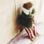 Knit a Mr. Toad, Pattern Designed By Claire Garland … He Looks Like He's From a Vintage Storybook!