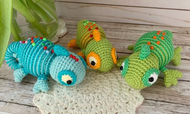 What Goes Around Comes Around … Crochet a Karma Chameleon Amigurumi As a Friendly Reminder!