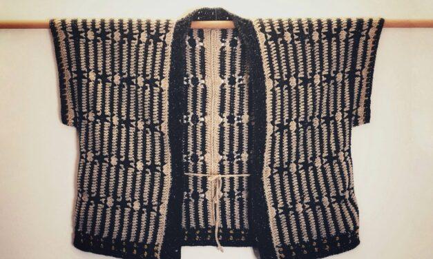 Crochet a 'His Harvest Cardigan' – It's a Unisex, Kimono-Style Sweater!