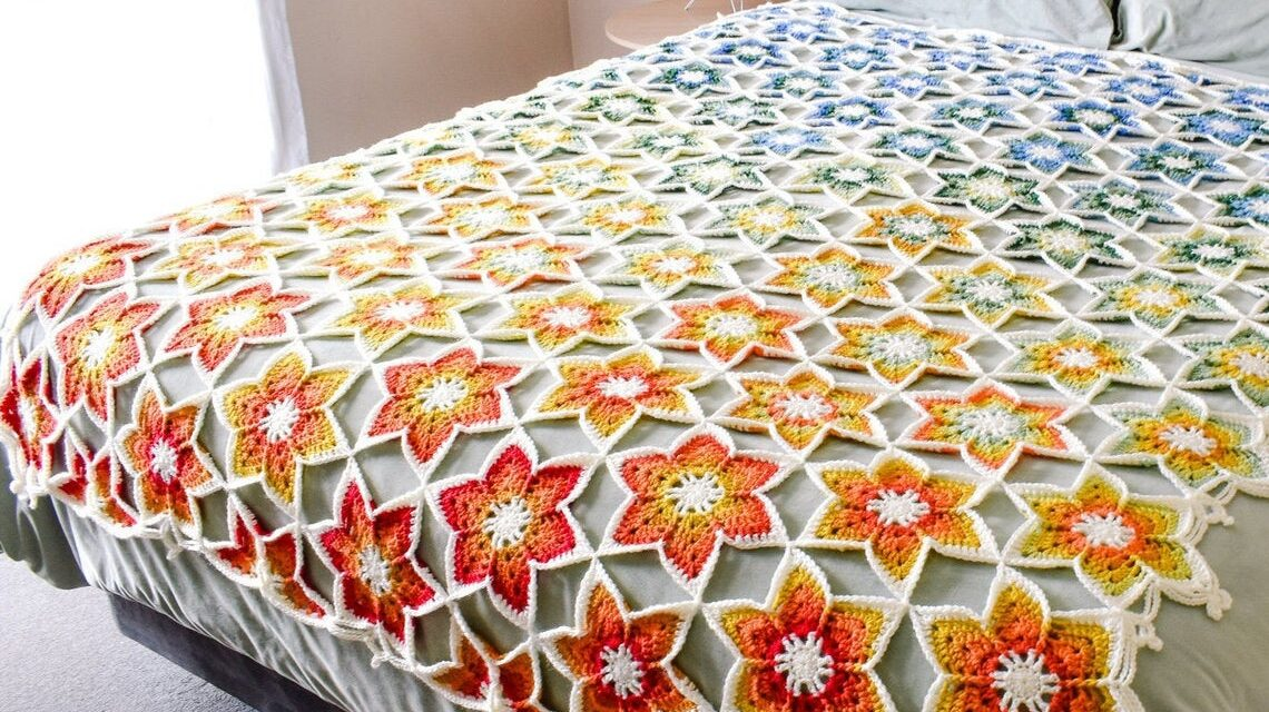Crochet A Resilience In Bloom Afghan For The Perfect Heirloom Gift