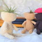 Crochet a Cute Airplant Holder, Makes a Unique Gift