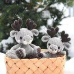 This Cutey-Patootie Moosey Is The Sweetest Crochet Amigurumi