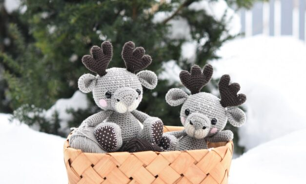 This Cutey-Patootie Moosey Is The Sweetest Crochet Amigurumi