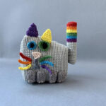 Hey Crocheters, Don't Pick Up Another Hook Until You See This Cubicat Cat Amigurumi Pattern!