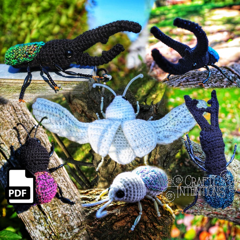 Insect Patterns For Crocheters #crochet #amigurumi