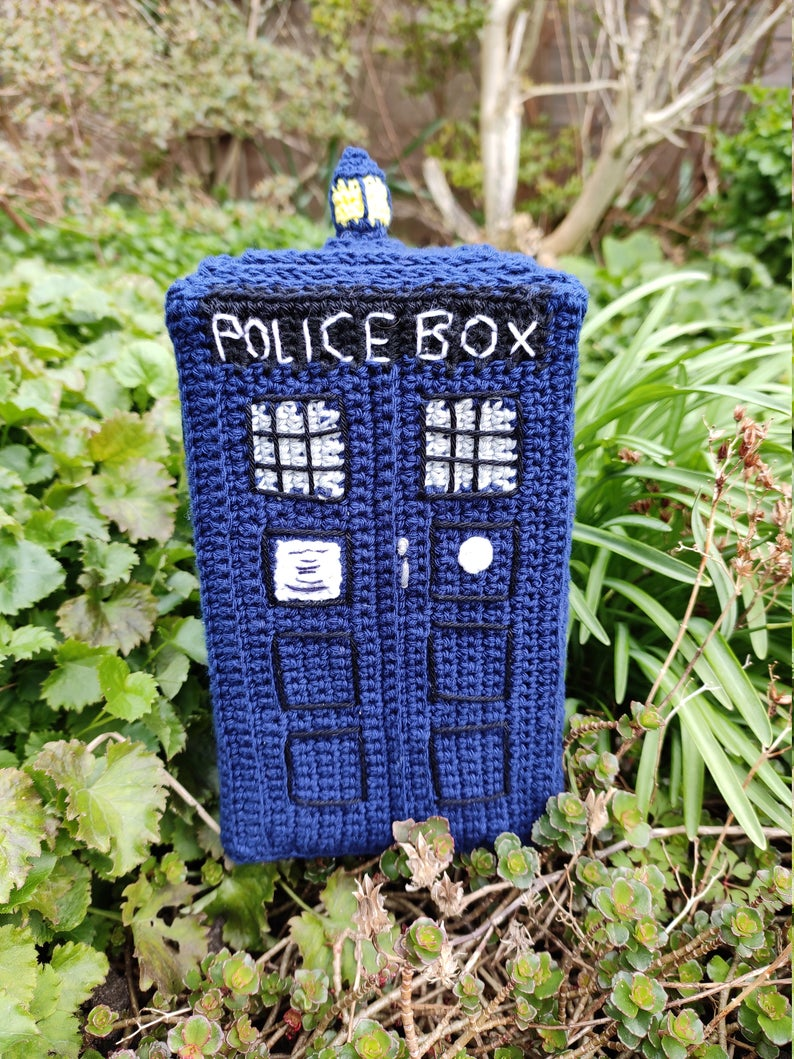 Doctor Who Inspired Patterns by Patricia Westergaard of Steekjelos Crafts