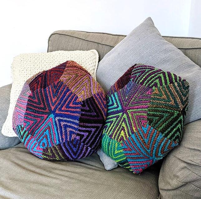 Freebie Friday! Knit a Bex Pillow by Stephanie Earp