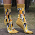 Knit a Pair of Arty Socks Inspired By Gustav Klimt