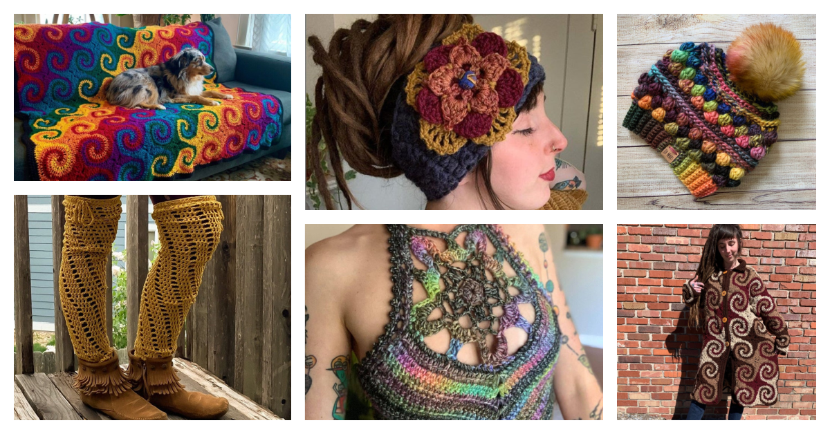 Designer Spotlight: 'Out Of This World' Crochet Patterns Designed By Hannah From Of Mars