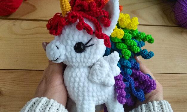 Crochet a Cute Unicorn Amigurumi Designed By Magnolia Toys