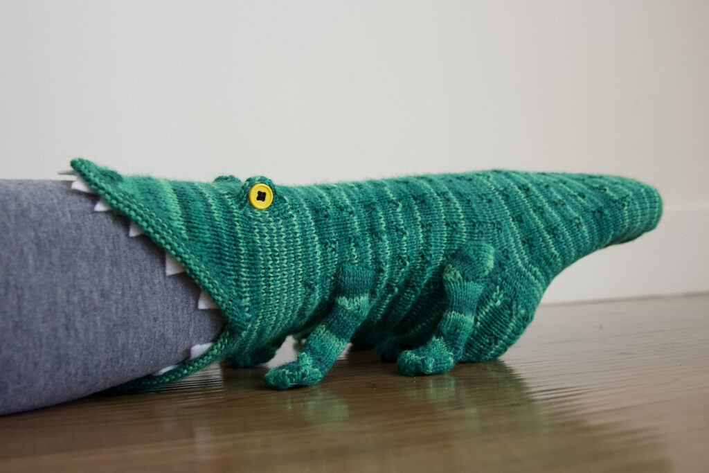 Move Over Fish Socks, Shark Socks Are Over, It's All About Crikey Crocodile Socks Now!