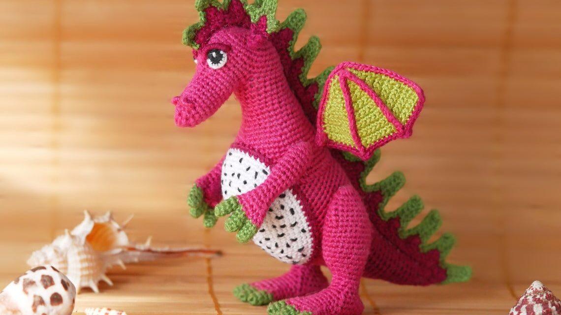 Crocheters Can Flip The Script With A Fun Fruit Dragon Amigurumi Pattern … Inspired By Yummy Dragon Fruit!