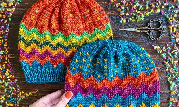 Scraptacular Is An Understatement When It Comes To This Tantalizing Trio Of Stashbusting Beanie Patterns!