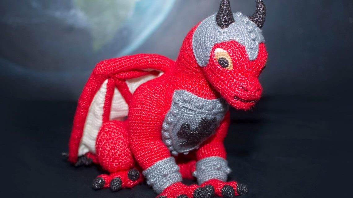 Meet Troy, The Mars Dragon, Designed By Marie Overton … Yes, You Can Crochet One Too!
