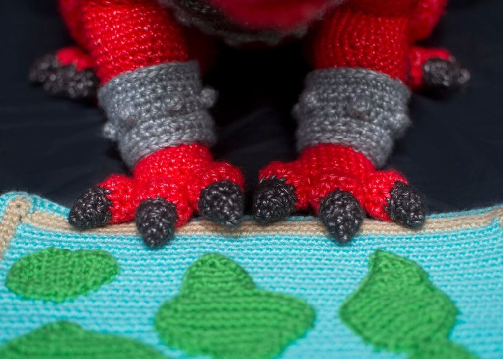 Meet Troy, The Mars Dragon, Designed By Marie Overton ... Yes, You Can Crochet One Too!