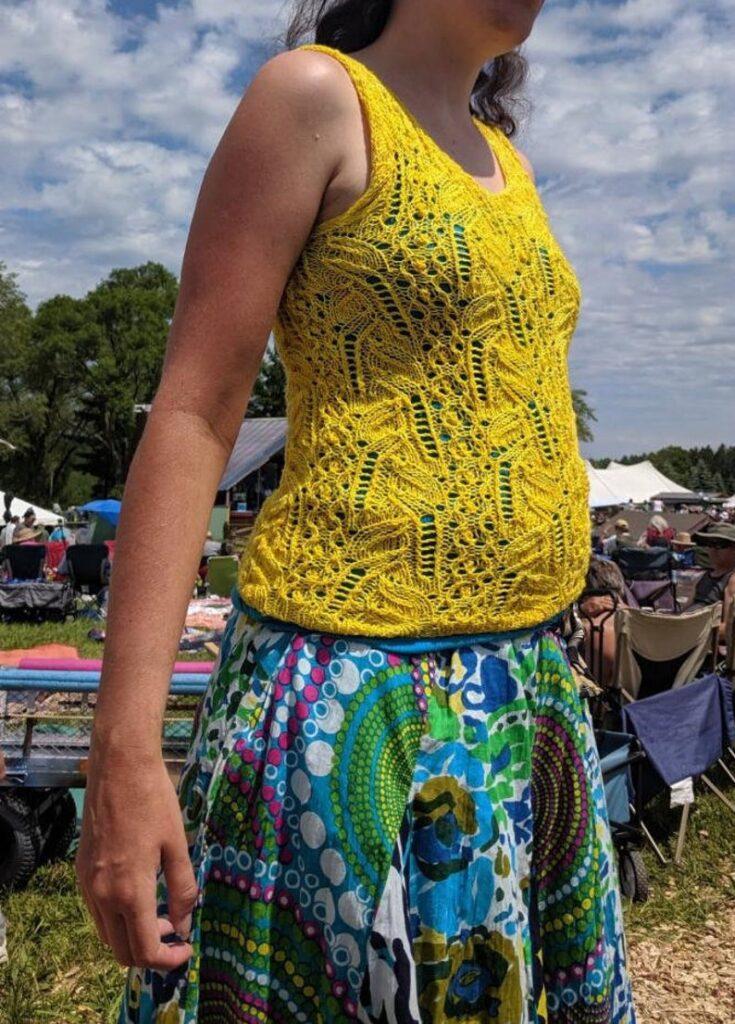 knit pattern designed by Cathy Pratt of Twilldo Threads #knitting