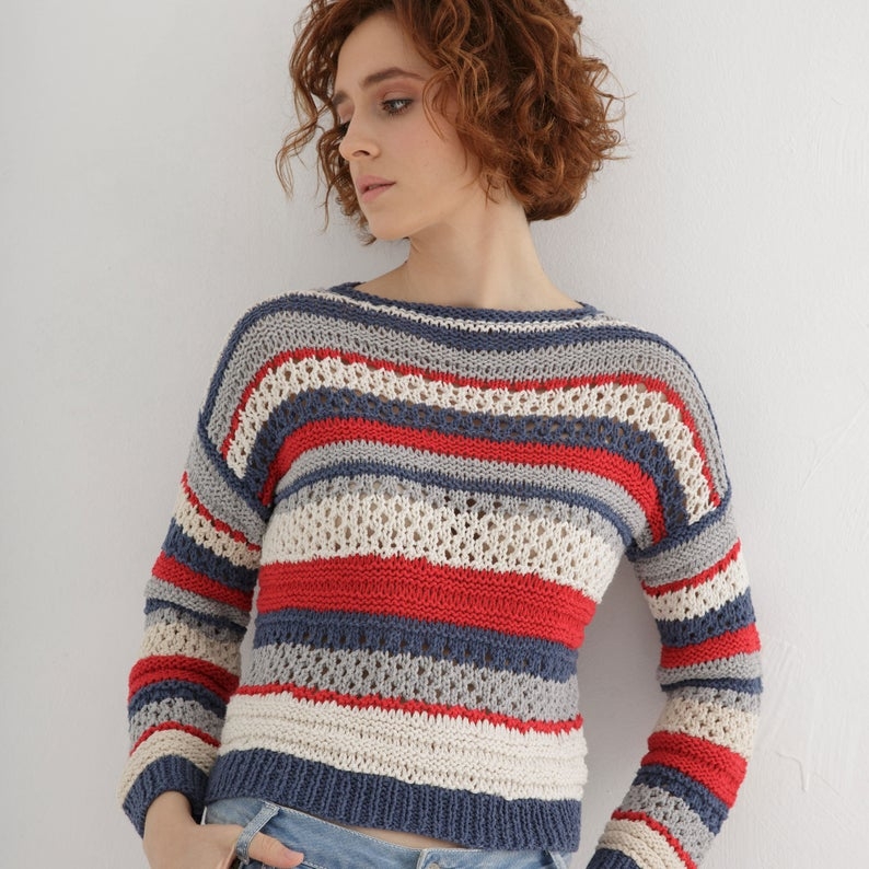 Designer Spotlight: Unique and Easy Knitting Patterns By Katerina Amprikidou Of Through The Stitch