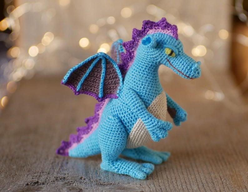 dragon patterns designed by Annie of Annie Crochet Patterns #crochet #amigurumi