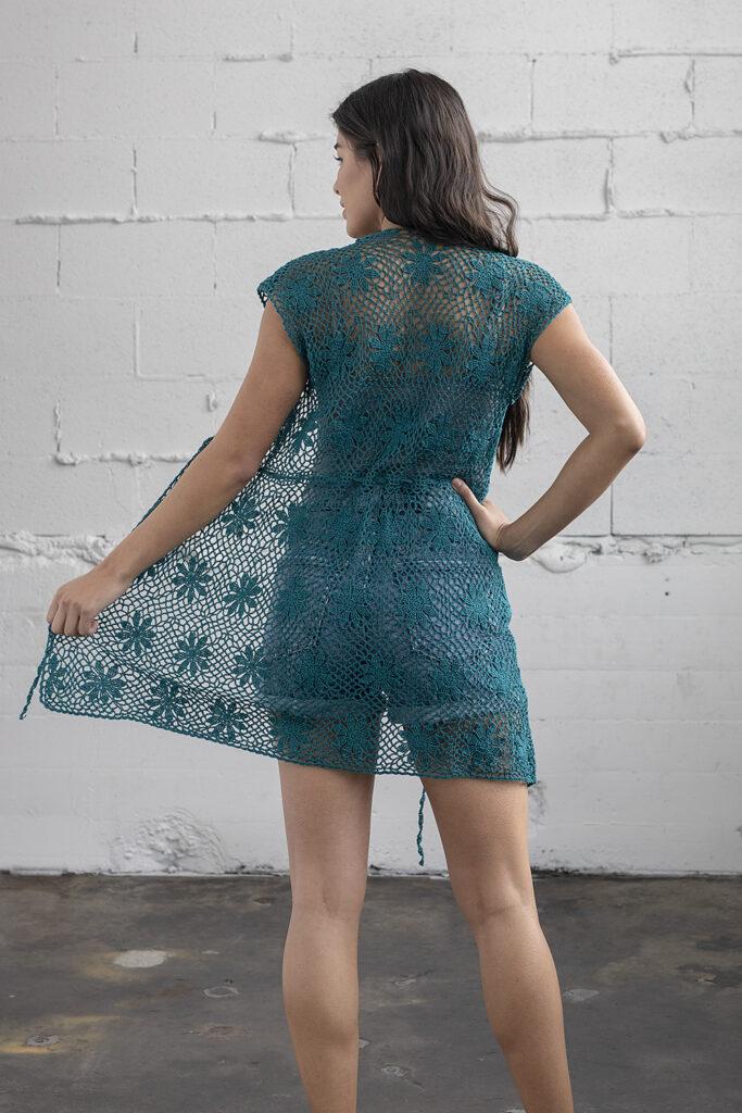 Crochet A Sensational Sea Star Cardi, Designed By Mimi Alelis - Free Pattern!