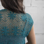 Crochet A Sensational Sea Star Cardi, Designed By Mimi Alelis – Free Pattern!