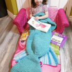 Finally … A Mermaid Blanket For Knitters! So Clever & Cute, Makes A Perfect Gift!