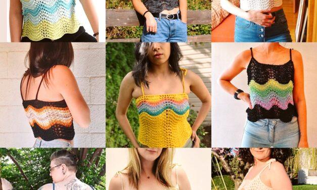 Knit a Super Cute Summer Swell Crop Top