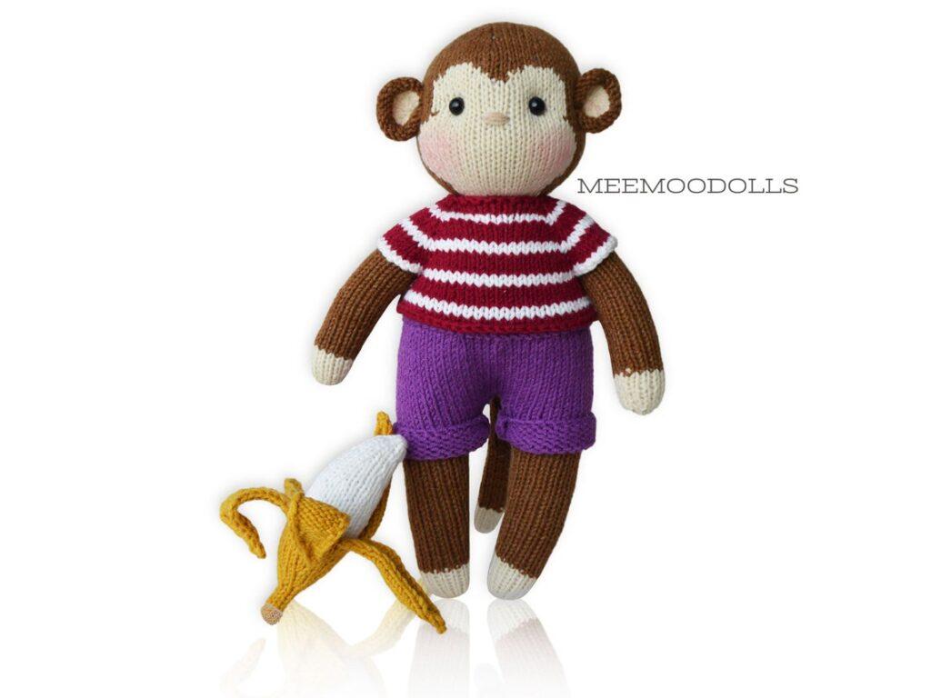 Knit a KoKo The Monkey Amigurumi ... He's Got Cute Friends!