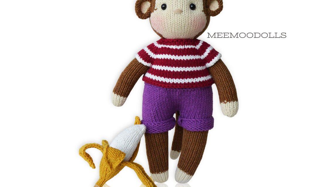 Knit a KoKo The Monkey Amigurumi … He's Got Cute Friends!