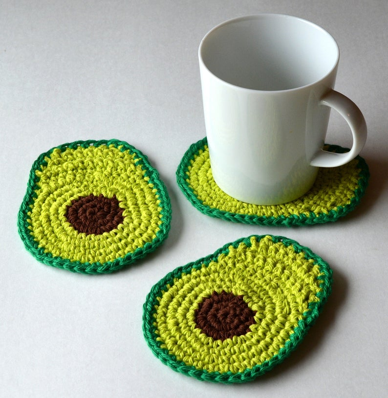 Designer Spotlight: Unique and Fun Crochet Patterns Inspired By Avocados!