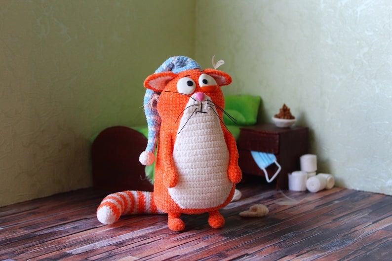 Designer Spotlight: The Best Knit & Crochet Patterns Inspired By CATS!