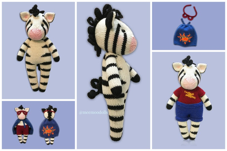 patterns designed by designed by Meemoo Dolls