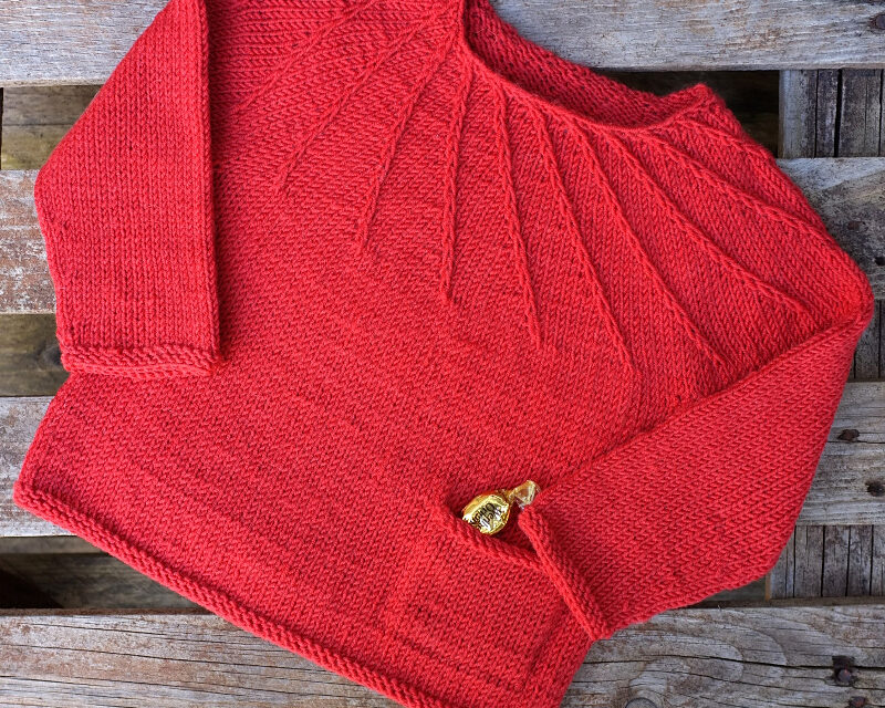 Knit The Whirligig Pullover, Designed By Kiddiwinksknits
