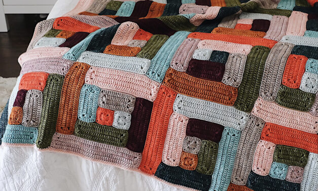 Crochet a Little Cabin Blanket by Pink Stitches … So Handsome!