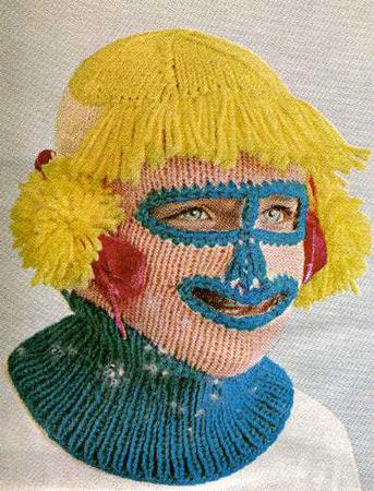 70's Inspired Ski Face, Designed By Rebecca Turner