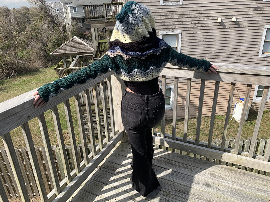 Christmas In July … Betty McKnit's Crochet Shrugs ... Make 'Em In Six Days Or Less