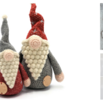 Christmas In July … Festive Gnomes, Holiday Bauble Head Amigurumi and a 3D Stocking Too!
