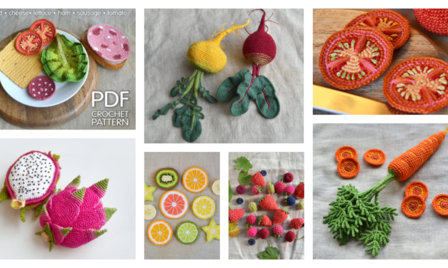 Christmas In July … Realistic Play Food Patterns For Endless Make Believe & Yummy Fun!