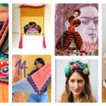 Designer Spotlight: The Best Knit & Crochet Patterns Inspired By Frida Kahlo